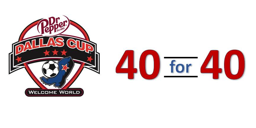 Dr Pepper Dallas Cup 40 for 40