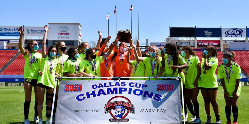 Inaugural Dallas Cup Girls Invitational presented by Mary Kay Crowns its First Four Champions
