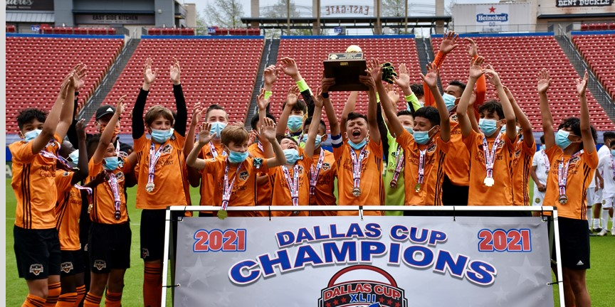 Dallas Cup Crowns Champions in the Under 13 through Under 16 Age Groups