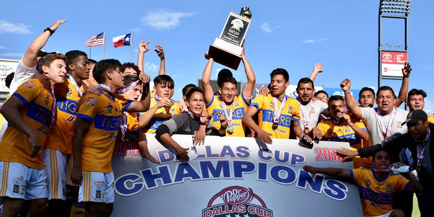 Tigres UANL to Defend Gordon Jago Super Group Title at 2020 Dallas Cup