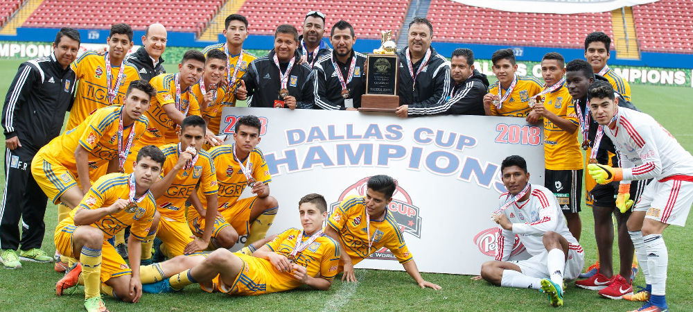 Tigres to Defend Gordon Jago Super Group Title at Dr Pepper Dallas Cup's 40th Anniversary Tournament